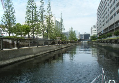 新芝浦運河
